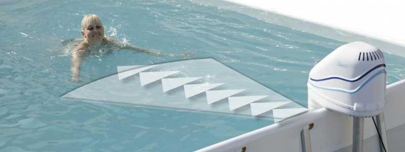 Swimspa maximerar din träning.