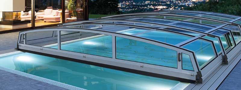 Pooltak över poolen förlänger säsongen avsevärt