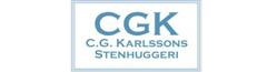 C.G Karlssons Stenhuggeri,utekok